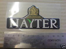 HAYTER HARRIER LOGO DECAL BADGE  56  48 41 PRO
