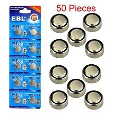 50x LR44 A76 L1154 AG13 357 357A SR44 303 1.5V Alkaline Button Coin Cell Battery