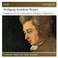 Mozart: String Quintets Nos. 3 & 4, Clarinet Quintet, Horn Quintet, Kegelstatt T