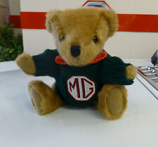 MG 'BUSTER' TEDDY BEAR, WITH GREEN JUMPER, BRAND NEW (BGR68D)
