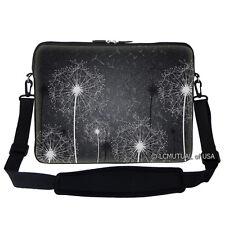 """15.6"""" Laptop Computer Sleeve Case Bag w Hidden Handle & Shoulder Strap 2900"""