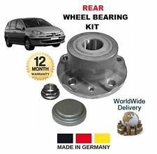 FOR PEUGEOT 807 2.0 2.2 3.0 V6 16v 2002 >ON NEW REAR WHEEL BEARING HUB KIT