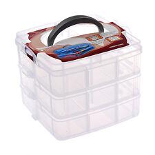 Nail Art Makeup Cosmetics Container Storage Box Case SH