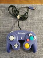 Official OEM Nintendo Gamecube Controller Indigo DOL-003 Authentic - TESTED