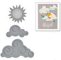 Cloud Moon Sun METAL CUTTING DIES DIY Scrapbook PAPER card album present mold