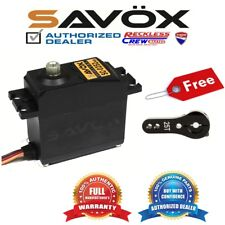 Savox SC-0252MG Digital Servo + Free Aluminium servo horn Black
