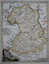 CAMBRIDGESHIRE CAMBRIDGE   BY THOMAS KITCHIN GENUINE ANTIQUE ENGRAVED MAP  c1770