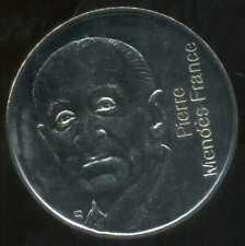 5 francs  1992 MENDES FRANCE  ( SPL )