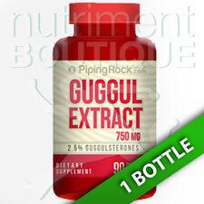 Piping Rock Guggul Extract 750 Mg 90 Caps 2.5% Guggulsterones (Commiphora mukul)