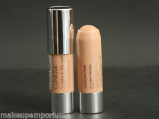 SET OF 2 CLINIQUE CHUBBY IN THE NUDE FOUNDATION STICK- INTENSE IVORY SAMPLE SIZE