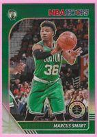 2019-20 NBA Hoops Premium Stock Marcus Smart Green Prizm #8 Boston Celtics