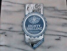 REBEL EIGHTY SHILLING DARK SCOTCH ALE REAL ALE BEER PUMP CLIP SIGN