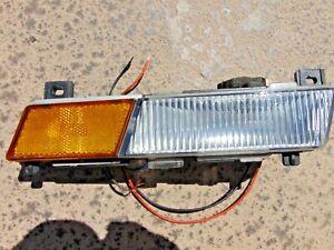 1984-87 Chevrolet Corvette Front Bumper Side Marker Turn Signal LH Drivers Nice