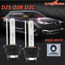 Pair D2S D2R D2C 55W HID Xenon Headlight Light 6000K Lamp Bulbs Car Replacement