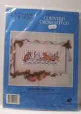 Cats in a Row Picture Candamar Designs Cross Stitch Kit Pattern  50690 new 1994