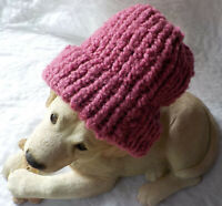 THICK Ribbed Beanie Knit Hat Ski Cap Skull Warm Winter Cuff (Mauve)