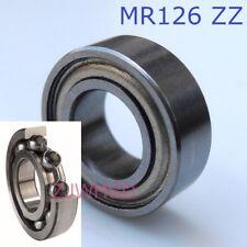 MR126 zz Si3N4 Ceramic Ball Bearing Rubber Sealed TRAXXAS 5117 / 6 x 12 x 4 mm
