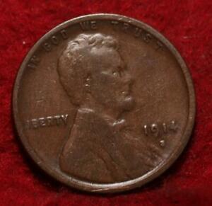 1914-S San Francisco Mint Copper Lincoln Wheat Cent