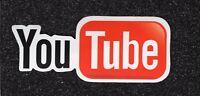 2YouTube-Logo Vinyl Stickers