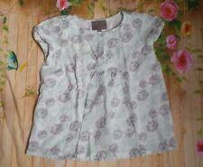 Girls Floral Sleeveless Cotton Tunic Top by CREAMIE (europe) Sizes 8 & 14, EUC