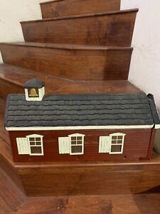 Vintage sears American Old rosefield distric 61 schoolhouse In colorado mailbox
