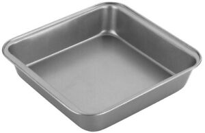 Chef Aid Non-Stick Bakeware Baking Oven Square Brownie Pan Dish Tin Tray - 20cm