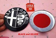 2pcs 7.4 cm New Alfa Romeo Car Logo emblem Badge sticker for Alfa Romeo Mito