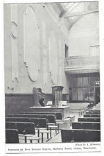HULME Zion Sunday School on Mulberry Street, Old Postcard Unused