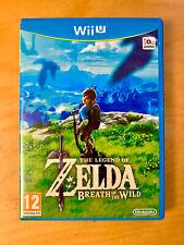 The Legend Of Zelda: Breath Of The Wild - Nintendo Wii U Game - FREE POSTAGE VGC
