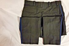 "UNISEX HORACE SMALL BLUE 36"" X 30"" EMT UNIFORM PANTS SLACKS WORK SAFETY HOSPITAL"