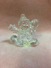 Lead Crystal Clown Figurine