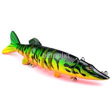 Minnow Fishing Lures Crank Bait Hooks Bass Crankbaits Tackle New FR