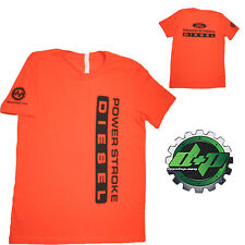 Ford Powerstroke Diesel Tee truck shirt DPP trucker gear 4X4 Orange 3XL
