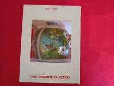 "Vintage Hallmark tree-trimmer collection Chrismas ornament 1983 ""MOTHER"""