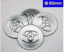 4pcs C084 65mm TOYOTA COROLLA Styling Emblem Badge Sticker Wheel Hub Caps Center