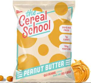 Schoolyard Snacks Old School Peanut Butter Keto, 10 Single serve bags 26g