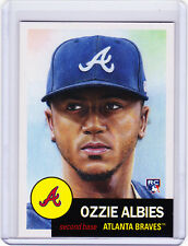 Ozzie Albies Atlanta Braves Rookie 2018 Topps 1953 Living Set 32 RC from Week 11