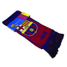 FC Barcelona Scarf Bar Maroon  Red  Blue Winter Lionel Messi  By Rhinox