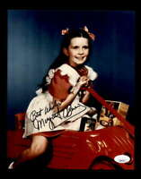 Margaret O'Brien JSA Coa Hand Signed 8x10 Photo Autograph