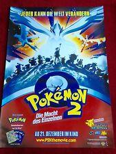 Pokemon 2 Kinoplakat Poster A1, Die Macht des Einzelnen, Pikachu