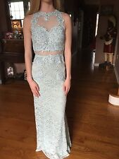 Stunning Betsy and Adam Prom Dress Size 00 * Perfect Condition gown formal ball