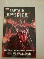 CAPTAIN AMERICA TPB THE TRIAL OF CAPTAIN AMERICA Vol 4 TPB ED BRUBAKER! HYDRA! M