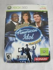 Karaoke Revolution Presents American Idol Encore XBOX 360 with Microphone New