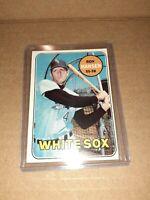 1969 Topps Baseball Ron Hansen #566 CHICAGO White SOX vintage BASEBALL