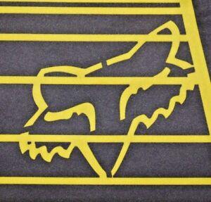 Mens Yellow/Black FOX HC L/C Motocross Racing Jersey Shirt size M