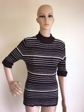 Style & Co. Women's Petite Plum Purple Short Sleeve Sweater Size PXL New NWT