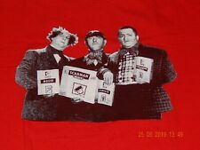 THREE STOOGES COMPUTER LOGITECH HANES BEEFY-T RED SIZE XL MENS T-SHIRT NEW