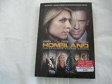 Homeland: Season 2 (DVD, 2013, 4-Disc Set) NEW