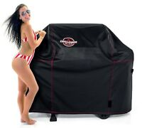 "Deluxe BBQ Grill Cover XL Challenger Outdoors Top Quality Weather Proof 63"" NEW"