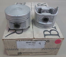 "CHEV 173 V6 PISTON KITS (NO RINGS) STD / 030"" - 464P / 464P30 (BADGER)"